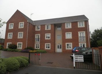 Thumbnail 2 bed flat to rent in Railway View, Cannock, Staffordshire