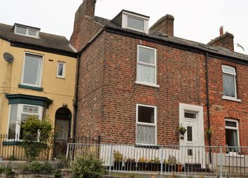 Thumbnail 3 bed end terrace house for sale in Oswy Street, Whitby