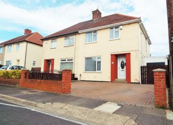 Thumbnail 3 bed semi-detached house for sale in Humshaugh Road, North Shields