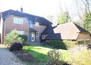 Thumbnail 4 bedroom detached house to rent in Home Lane, Sparsholt, Winchester