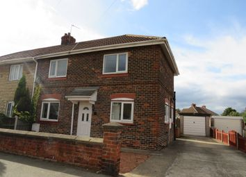 Thumbnail 3 bed semi-detached house for sale in Church Road, Bircotes, Doncaster
