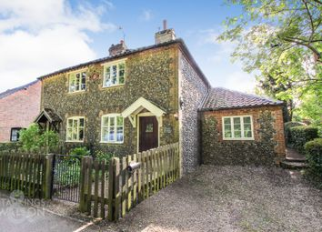 Thumbnail 2 bed cottage to rent in The Street, Saxlingham Nethergate, Norwich