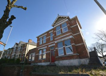 Thumbnail 2 bed flat to rent in Victoria Road, Plymouth, Devon