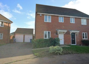 Thumbnail 3 bed semi-detached house to rent in Maylam Gardens, Sittingbourne