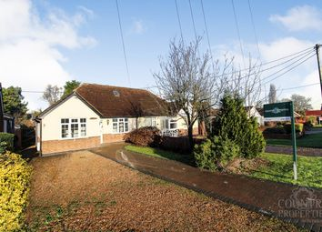 3 bed semi-detached bungalow for sale in Wood End Road, Kempston, Bedford MK43