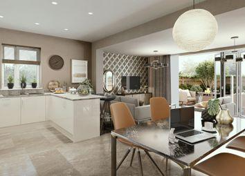 "Thumbnail 3 bedroom semi-detached house for sale in ""Villa"" at Hauxton Road, Trumpington, Cambridge"