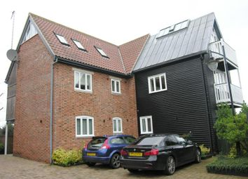 Thumbnail 2 bedroom flat to rent in Quayside, Woodbridge