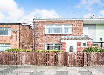 Thumbnail 3 bed semi-detached house for sale in Rydal Road, Gosforth, Newcastle Upon Tyne