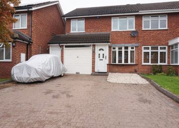 Thumbnail 3 bed semi-detached house for sale in Harbury Close, Minworth, Sutton Coldfield