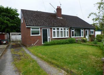 Thumbnail 2 bed semi-detached bungalow for sale in Booth Avenue, Sandbach