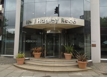 Thumbnail 1 bedroom flat to rent in Metropolitan House, 1 Hagley Road, Birmingham