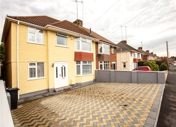 Thumbnail 4 bed semi-detached house for sale in Burley Grove, Mangotsfield, Bristol