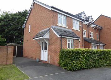 Thumbnail 3 bed end terrace house for sale in Cinnamon Close, Manchester
