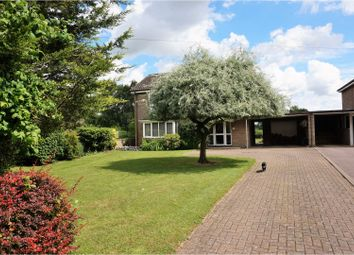 Thumbnail 4 bedroom detached house for sale in Old House Road, Balsham, Cambridge