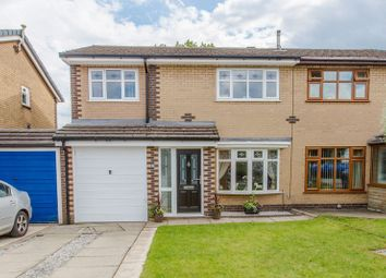 Thumbnail 4 bed semi-detached house for sale in Longbrook, Shevington, Wigan