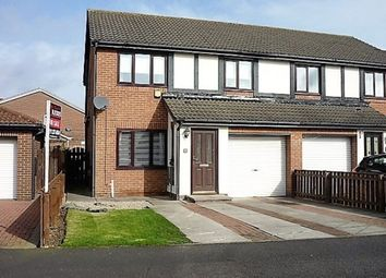 Thumbnail 3 bed semi-detached house for sale in Wylam Avenue, Holywell, Whitley Bay