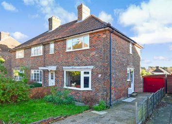 Thumbnail 3 bed semi-detached house for sale in East Way, Lewes, East Sussex