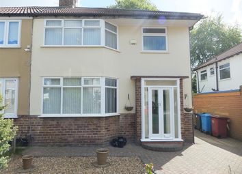 Thumbnail 3 bed semi-detached house to rent in Lawton Road, Huyton, Liverpool