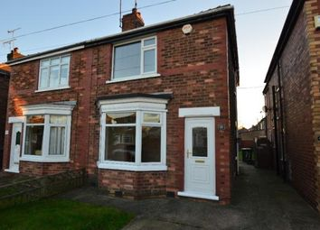 Thumbnail 3 bed semi-detached house to rent in Somersby Avenue, Sprotbrough, Doncaster