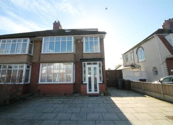 Thumbnail 4 bed semi-detached house for sale in Edgemoor Drive, Crosby, Liverpool, Merseyside