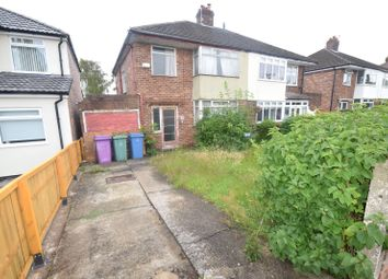 Thumbnail 3 bed semi-detached house for sale in Hunts Cross Avenue, Woolton, Liverpool