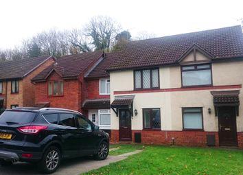Thumbnail 2 bed terraced house for sale in Ffordd Ddu, Hazel Grove, Pyle