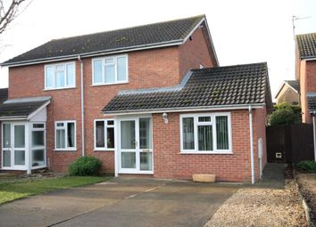 Thumbnail 2 bed semi-detached house to rent in Willow Road, Stamford, Lincolnshire