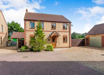 Thumbnail 4 bedroom detached house for sale in Elmwood Mews, Elm, Wisbech