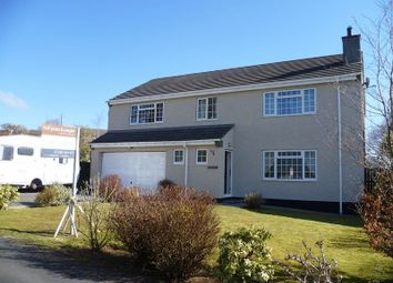 Thumbnail 5 bed detached house for sale in Maes Y Coed, Talwrn, Llangefni
