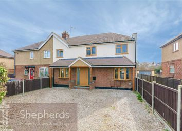 Thumbnail 4 bed semi-detached house for sale in Hansells Mead, Roydon, Essex