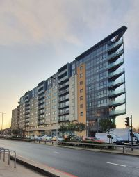 Thumbnail 2 bed flat for sale in Gabrielle House, Perth Road, Ilford