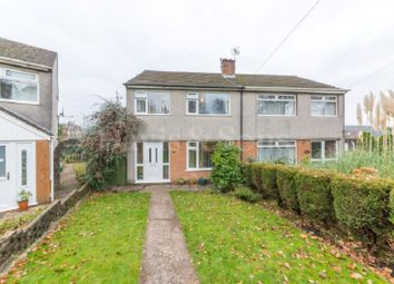 Thumbnail 3 bed semi-detached house for sale in Laurel Road, Bassaleg, Newport.