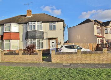 Thumbnail 3 bed semi-detached house to rent in Naseby Road, Clayhall, Ilford