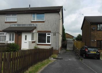 Thumbnail 2 bed semi-detached house for sale in Heol Elfed, Llansamlet, Swansea