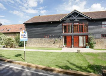 Thumbnail 4 bed barn conversion for sale in Manston Court Road, Manston, Ramsgate