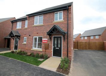 Thumbnail 3 bed semi-detached house to rent in Tutbury Avenue, Littleover, Derby