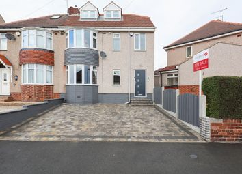 Thumbnail 4 bed semi-detached house for sale in Moorland View, Sheffield