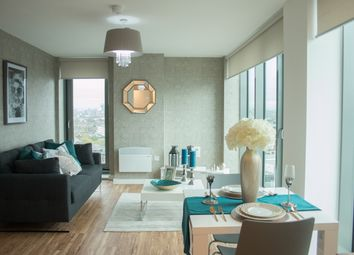 Thumbnail 1 bed flat for sale in 9 Michigan Avenue, Salford Quays