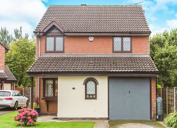 Thumbnail 3 bed detached house for sale in Guernsey Close, Congleton