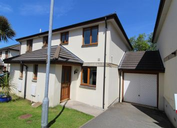 Thumbnail 2 bed semi-detached house to rent in Chy Cober, Hayle