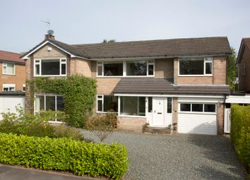 Thumbnail 4 bed detached house for sale in Firs Crescent, Harrogate, North Yorkshire