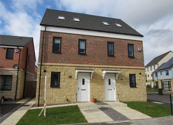 Thumbnail 3 bed semi-detached house for sale in St Hildas Place, Stella Riverside, Blaydon On Tyne