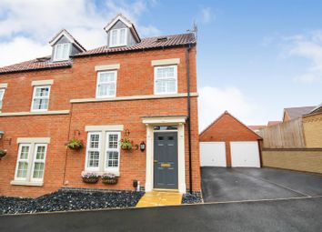 Thumbnail 3 bedroom semi-detached house for sale in Wansbeck Close, Arnold, Nottingham