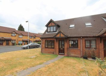 Thumbnail 1 bed terraced house to rent in Ambleside Close, Bradley, Bilston
