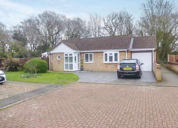 Thumbnail Detached bungalow for sale in Laxfield Way, Lowestoft