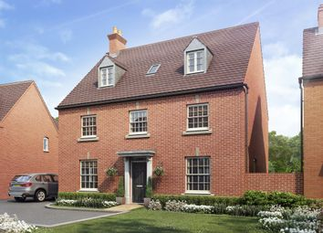 "Thumbnail 5 bed detached house for sale in ""Buckingham"" at Halse Road, Brackley"