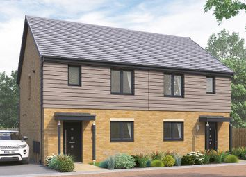"Thumbnail 3 bed terraced house for sale in ""The Heybridge"" at Highfield Lane, Rotherham"
