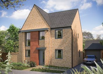 "Thumbnail 4 bedroom detached house for sale in ""The Buxton"" at Station Road, Longstanton, Cambridge"