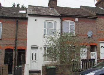 Thumbnail 2 bed terraced house to rent in Salisbury Road, Luton