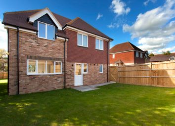 Thumbnail 4 bed detached house for sale in Swan Close, Ashington